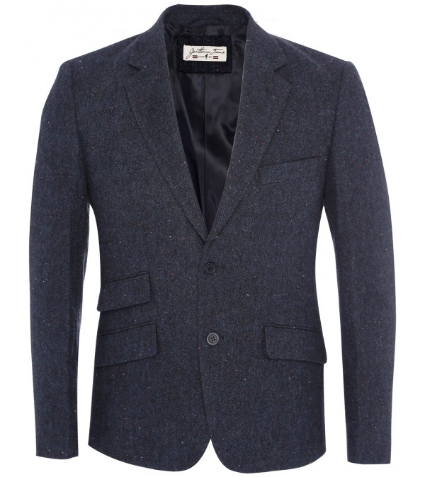 Blazer navy mix tweed