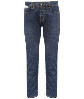 Jean regular bleu stone wash