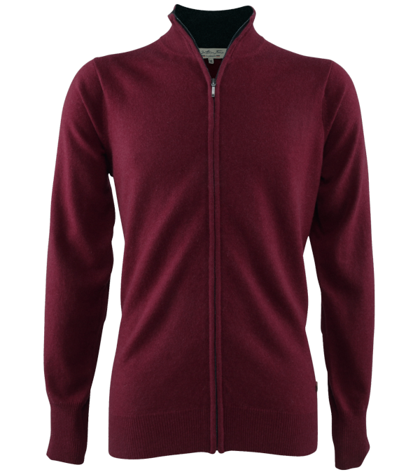 Cardigan cachemire Leston red