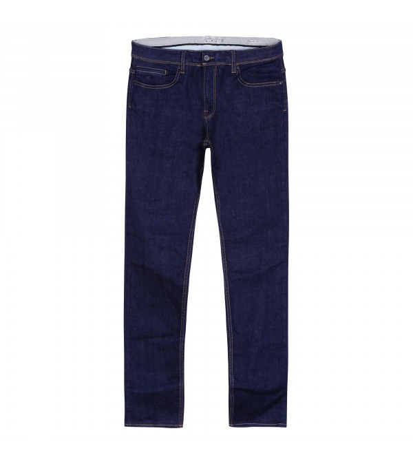 Jean regular bleu rince