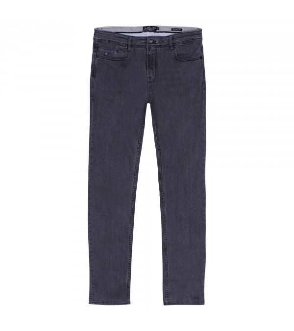 Jean regular gris stone wash