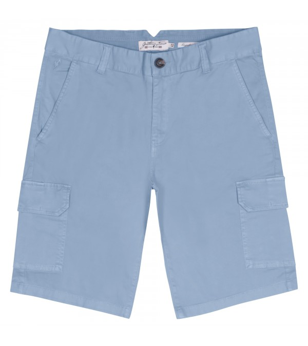 Short cargo Percy bleu