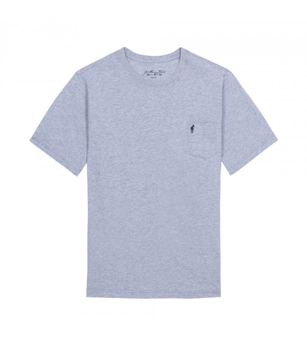 T-shirt Theo mix grey