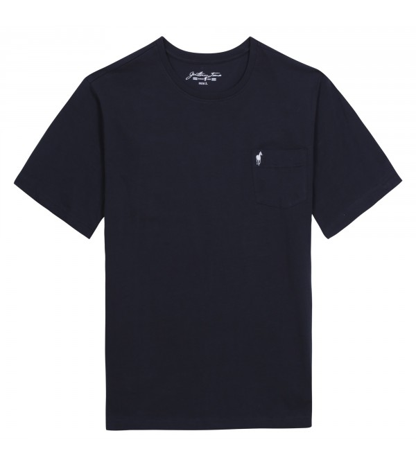 T-shirt Theo ink navy