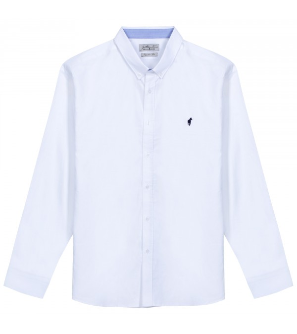 Chemise oxford Chad white