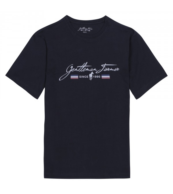 T-shirt Trevor ink navy