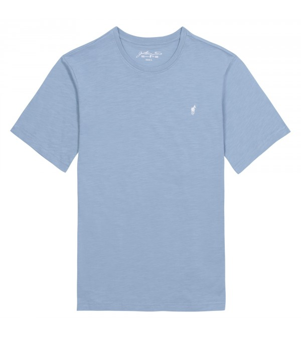 T-shirt Tuck stone blue