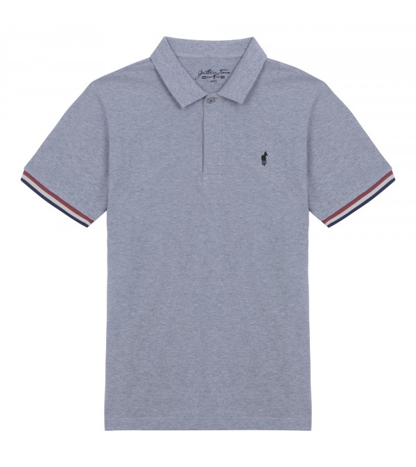 Polo Oliver mix grey