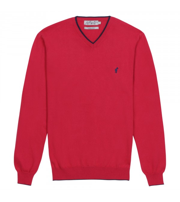 Pull col V Lucky red