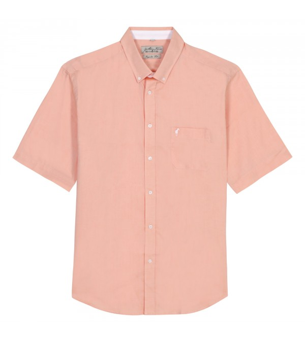 Chemise Claude orange