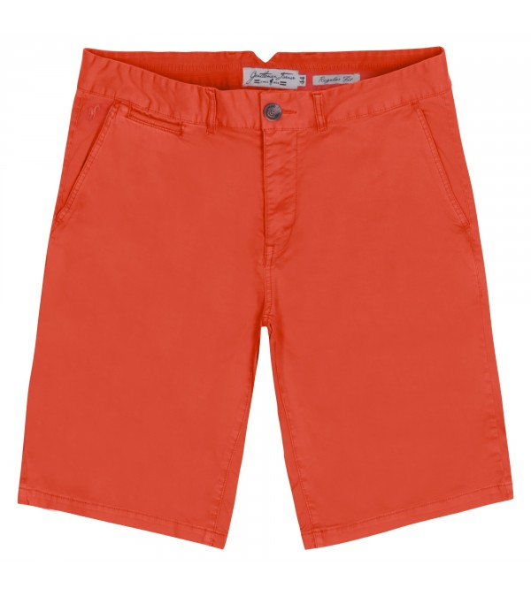 Short chino Paris paprika