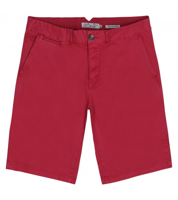 Short chino Paris red
