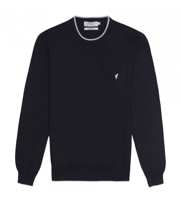 Pull col rond Lois black