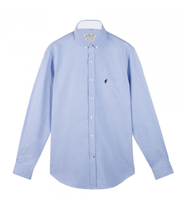 Chemise Chad blueberry
