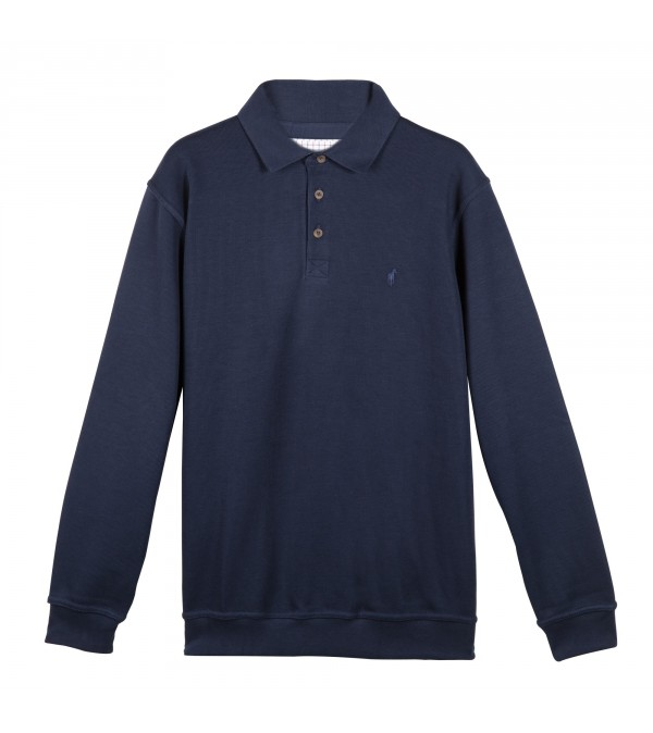 Sweater Polo Seaton Navy