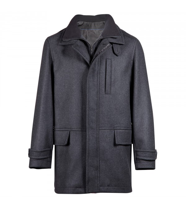 MANTEAU MENS ANTHRACITE