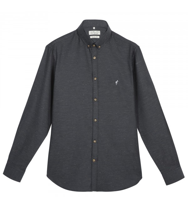 Chemise Clay anthracite