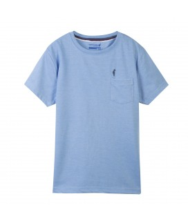 T-shirt Tlogor J Light Blue Melanged