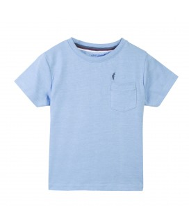 T-shirt Tlogor K Light Blue Melanged