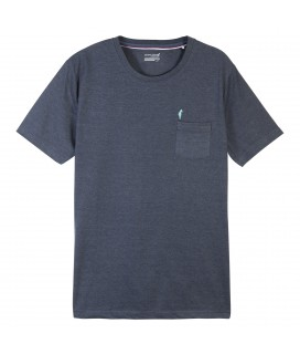 T-shirt Tlogor Navy Chine