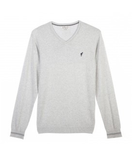 Pull LAUREL light grey