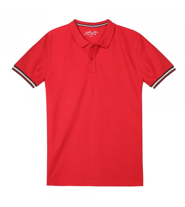 Polo OLIVER Rouge