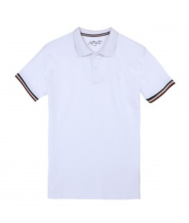 Polo OLIVER Blanc