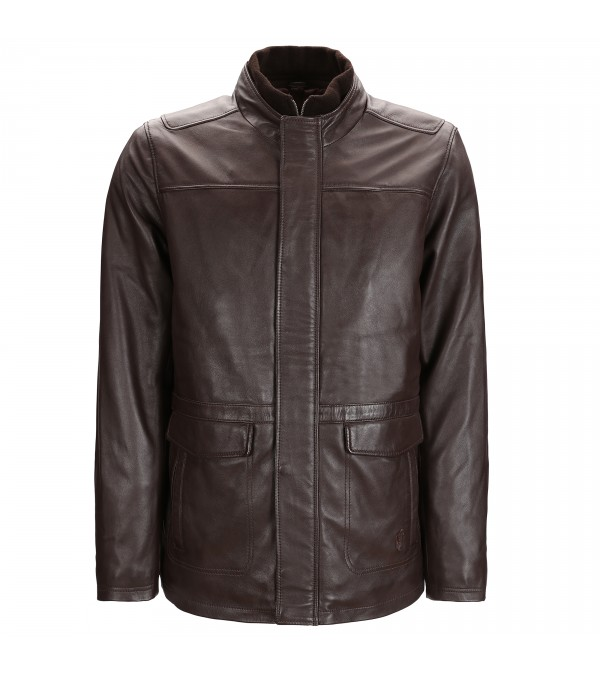 Blouson Guy Marron
