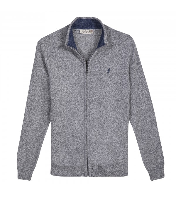 Cardigan LINCOLN Gris Chine