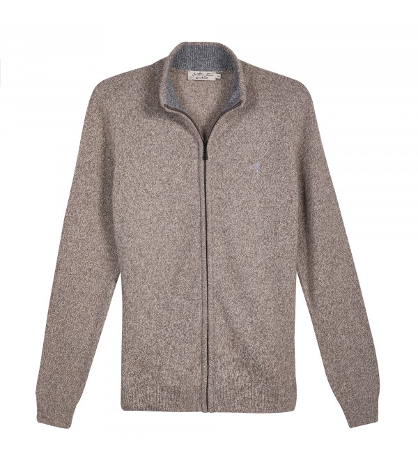 Cardigan LINCOLN Marron Chine