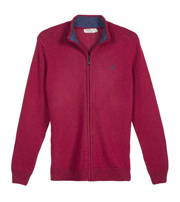 Cardigan LINCOLN Bordeaux Chine