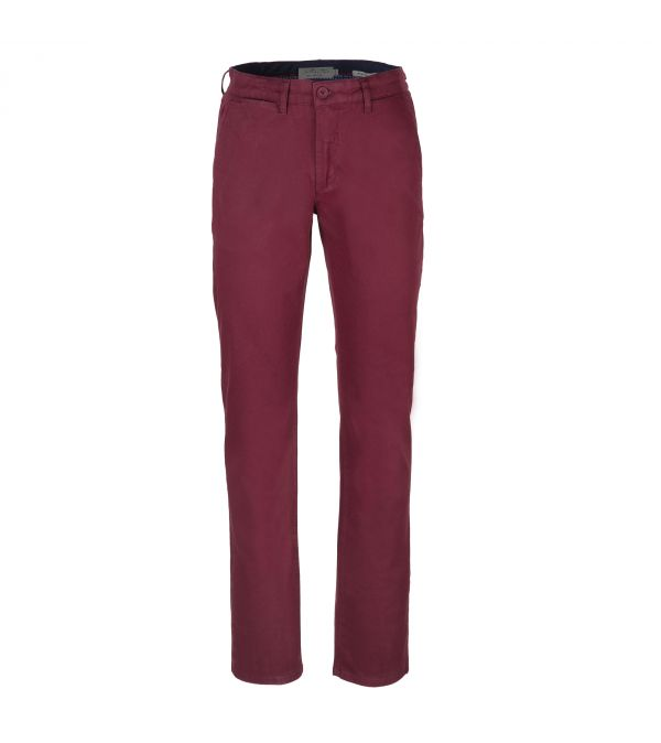 PANTALON PIER BORDEAUX
