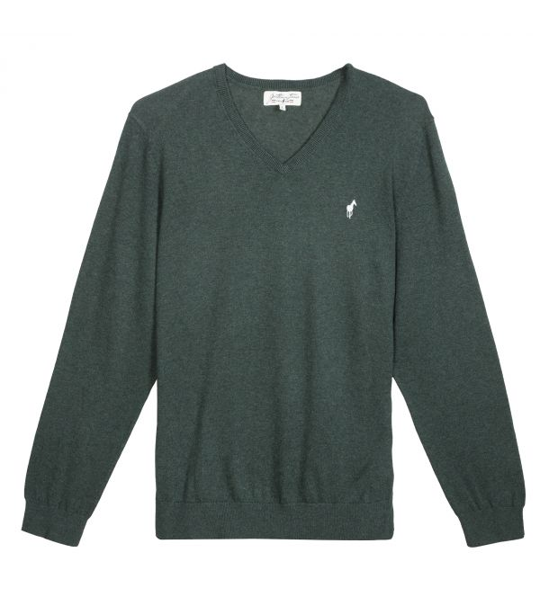 PULL LOUIS DARK GREEN