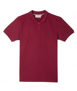 POLO  ORFEO BURGUNDY