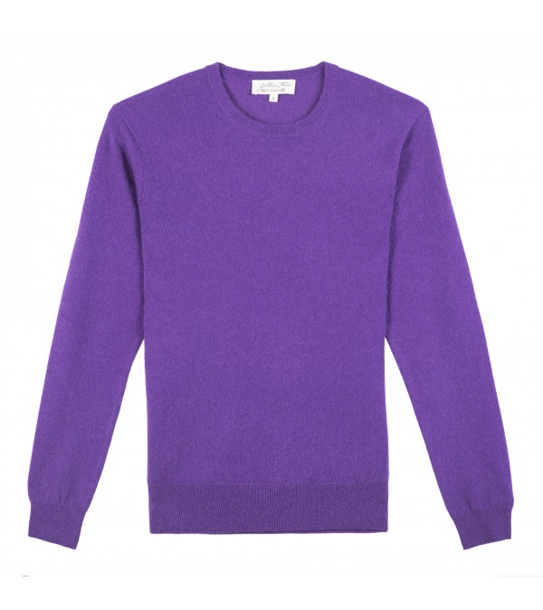 Pull cachemire MARLO violet