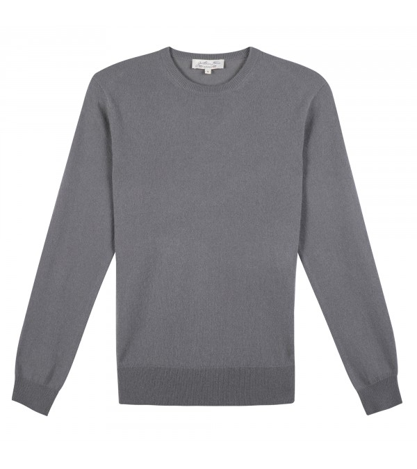 Pull cachemire MARLO bleu gris