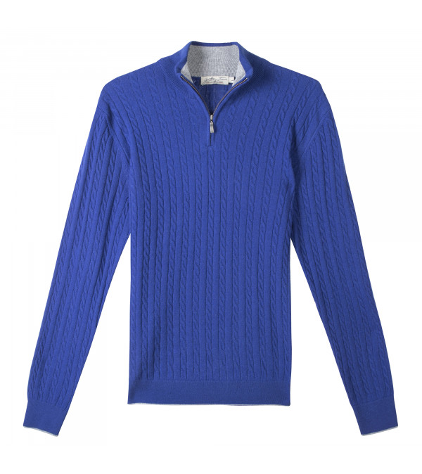 Pull LAON royal bleu