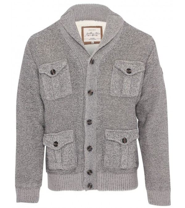 Cardigan mix grey