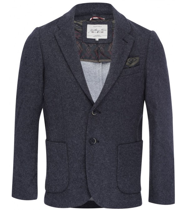 Blazer dark mix grey