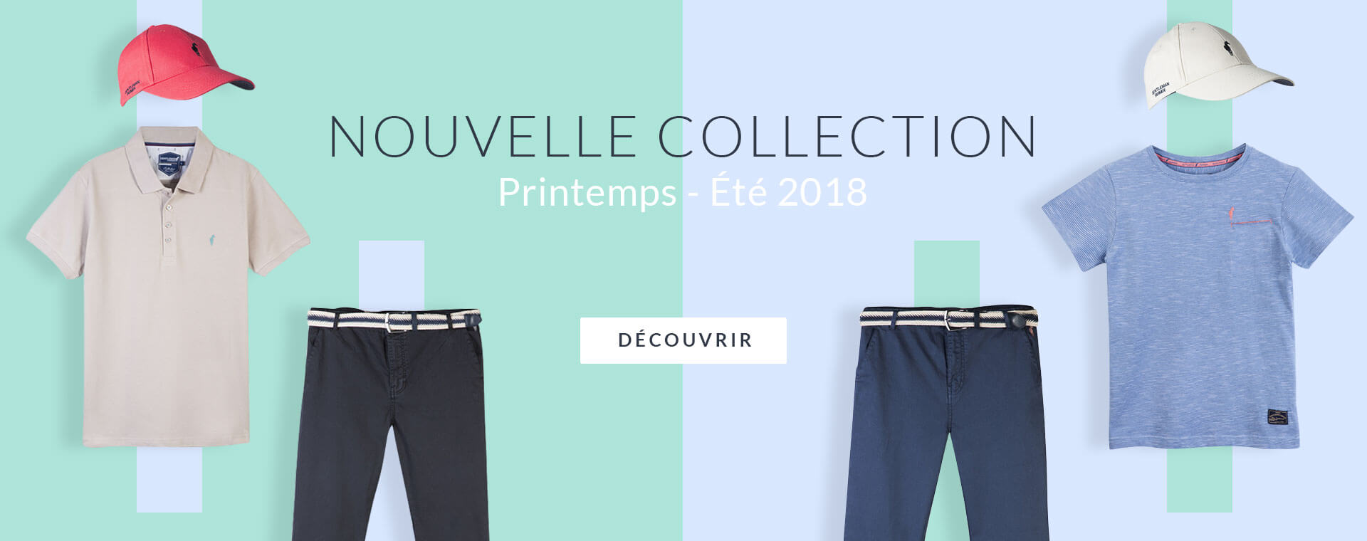 Nouvelle collection PE18